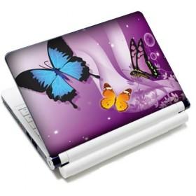 """Samolepka, skin Huado na notebook 12""""-15,6"""" Motýle vo fialovej"""