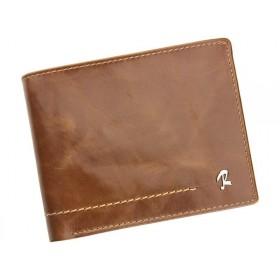 Rovicky pánská kožená peňaženka Zachar Hnedá