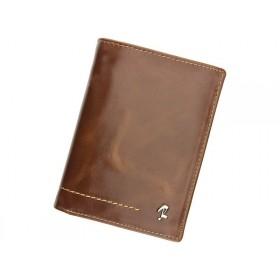 Rovicky pánská kožená peňaženka Kleo Hnedá