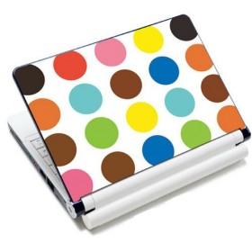 "Samolepka, skin Huado na notebook 12""-15,6"" Polka dots"
