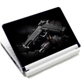 "Samolepka, skin Huado na notebook 12""-15,6"" Revolver 9 mm"
