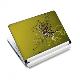 "Samolepka, skin Huado na notebook 12""-15,6"" Zelený rozkvet"