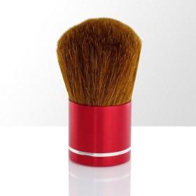 Shimia štětec na prach i puder červený