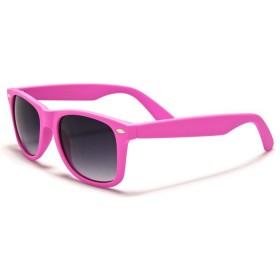 Slnečné okuliare wayfarer růžové