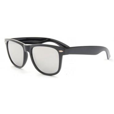 Slnečné okuliare wayfarer strieborné zrkadlovky