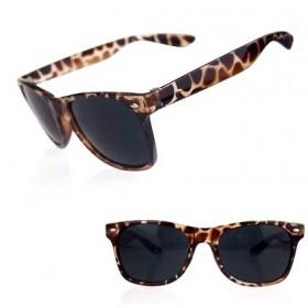 Slnečné okuliare styl wayfarer leopard