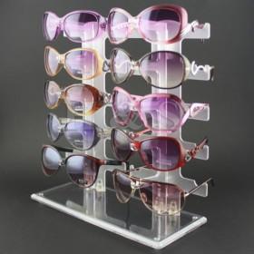 Stojan, držák na 10ks sluneční brýle