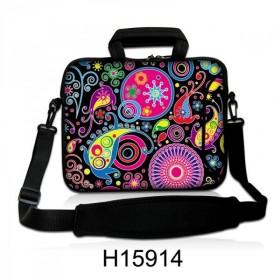 """Taška cez rameno Huado do 17.4"""" Picasso style"""