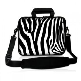 """Taška cez rameno Huado do 15.6"""" Zebra"""