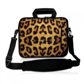 """Taška cez rameno Huado do 15.6"""" Leopardí motiv"""