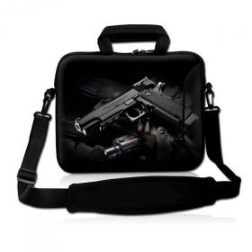 """Taška cez rameno Huado do 15.6"""" Revolver 9 mm"""