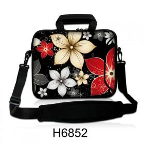 """Taška cez rameno Huado do 15.6"""" Večerné kvety"""