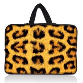 "Taška Huado na notebook do 12.1"" Leopardí motiv"