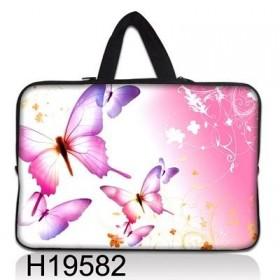 """Taška Huado na notebook do 13.3"""" Ružové motýle"""
