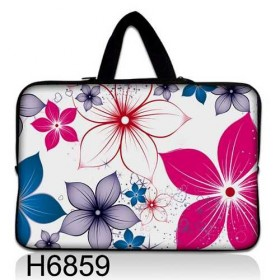 """Taška Huado na notebook do 14.4"""" Kvety na jar"""