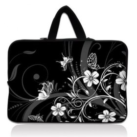 """Taška Huado na notebook do 15.6"""" Kvetinky a motýle"""