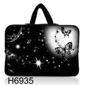 """Taška Huado na notebook do 14.4"""" Nočné motýle"""