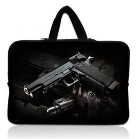 """Taška Huado na notebook do 15.6"""" Revolver 9 mm"""
