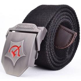 Unisex pásek Army černý Communist