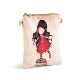 Dievčenská kabelka cez rameno Dievčatko na knihách