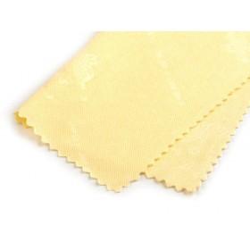 Mikroutěrka na čištění brýlí a notebooky 13cm žlutá