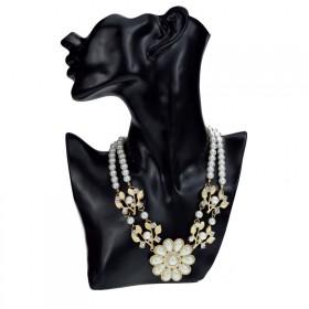 Perlový náhrdelník se zirkony Carmenia