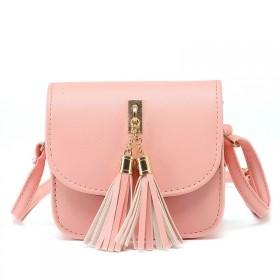 Dámská crossbody kabelka Klára Růžová