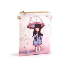 Dievčenská kabelka cez rameno Dievčatko v daždi