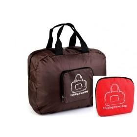 TRAVEL skladacia cestovná taška Červená