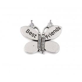 Sada príveskou priateľstva Best Friends motýl