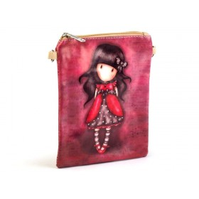 Dievčenská včí kabelka cez rameno ružové Dievčatko