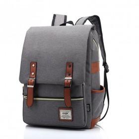 RETRO Textilní batoh Mein Šedý