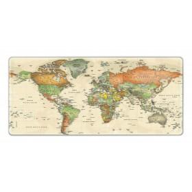 XXL podložka pod myš HUADO Mapa světa