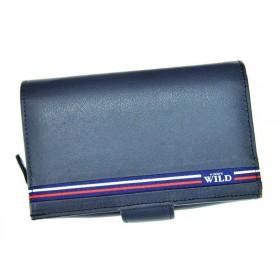 Always Wild dámská kožená peněženka Celtic3 Modrá