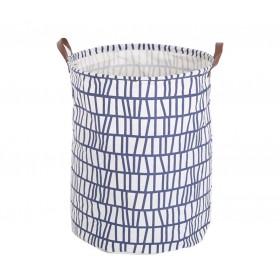 Plátený kôš na prádlo Blue Lines 60L
