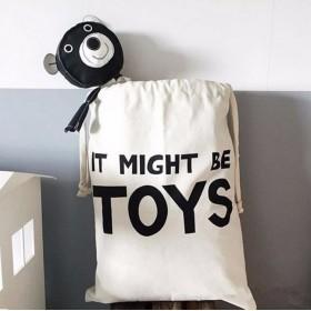 Plátený vak na hračky a prádlo Toys