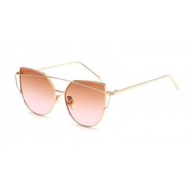 Sluneční brýle GLAM CAT Ombre Hnědé