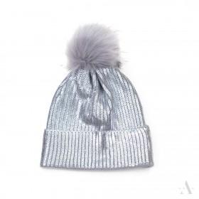 ArtOfPolo dámská čiapka Glamour Strieborná