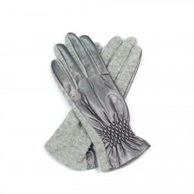 ArtOfPolo Vlnené rukavice s lémom
