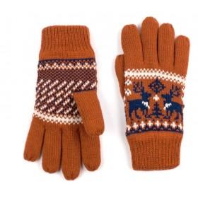 ArtOfPolo Unisex rukavice so sobom Oranžové