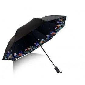 Dámsky skládací dáždnik Vtáci