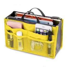 Organizér do kabelky Žltý
