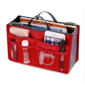 Organizér do kabelky Červený