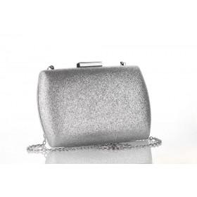Škrupinová kabelka Vanda Silver