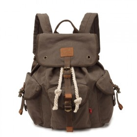 Augur plátený batoh Pioneer- Khaki