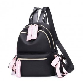 Čierny menší batôžtek Pink Flow