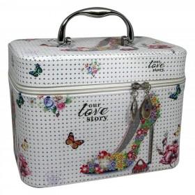 BMD kosmetický kufrík Love to Story s kryštálmi