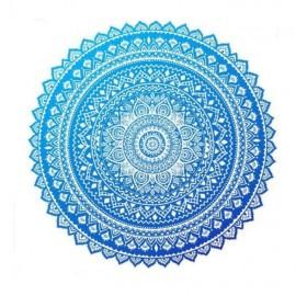 Kruhový Plážový uterák Boho Mandala