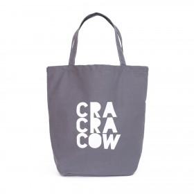 Shopper nákupná taška Cra Cra Cow šedá