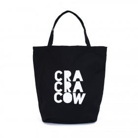 Shopper nákupná taška Cra Cra Cow Čierna
